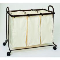 Dymon Devon Triple Laundry Sorter