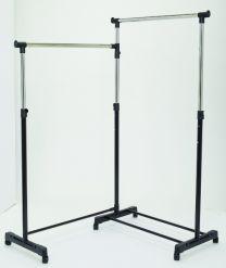 Dymon Electa Corner Garment Rack