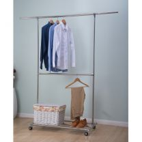 Dymon Wellington Double Hang Garment Rack