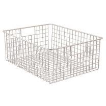 Classico Wire Basket 16 x 12 x 6in - Satin