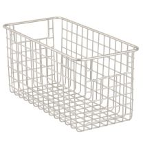 Classico Wire Basket 12 x 6 x 6in - Satin