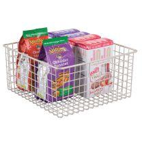 Classico Wire Basket 12 x 12 x 6in - Satin