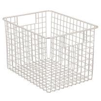 Classico Wire Basket 12 x 9 x 8in - Satin