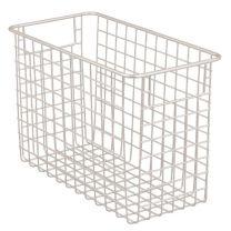Classico Wire Basket 12 x 6 x 8in - Satin