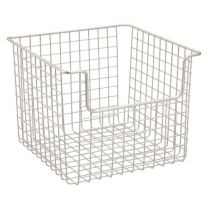 Classico Open Wire Basket 10 x 10 X 7.75 - Satin