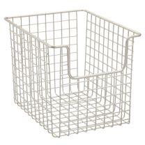 Classico Open Wire Basket 8 x 10 X 7.75 - Satin