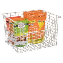 Classico Open Wire Basket 12 x 10 x 7.75 - Satin