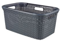Curver-45L-Style-Basket--Grigio-1