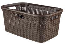 Curver-45L-Style-Basket-Cioccolato-1
