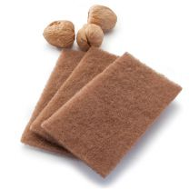 NEAT NUT Walnut Scouring Pads 3 pack