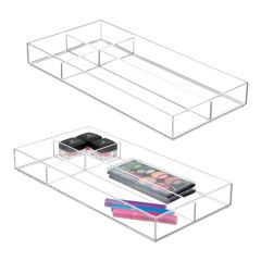 Clarity®  16in Vanity Organizer Divided