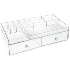 Clarity® Organizer Two Drawer Cosmetics
