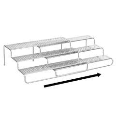 Classico Expandable Spice Rack - Silver
