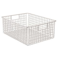 Classico Wire Basket 16 x 12 x 6in - Satin