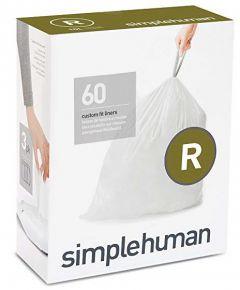 simplehuman Custom Fit Liner R  60pk