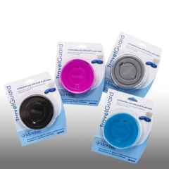 TravelGuard Collapsible Travel Cup with Pill Case