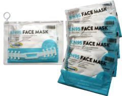 Two Weeks Protective Kit - 5 Masks, Strap, and Pouch