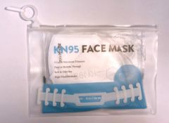 DYMON Resealable Face Mask Pouch